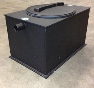 Kunststof slib-vetafscheider 0,7 liter/seconde